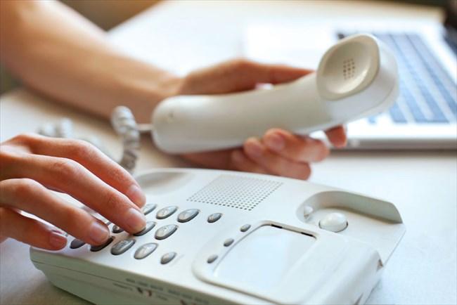 電話のやりとり